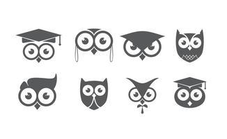 Geek Owl Logo vecteur