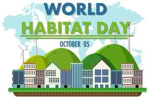 journée mondiale de l'habitat 5 octobre