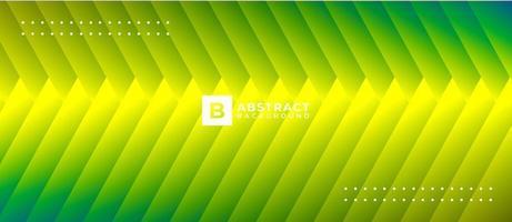 dégradé néon vert forme jaune abstrait