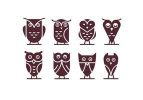 Owl Logo Vecteurs vecteur