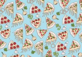 Pizza Motif Vector