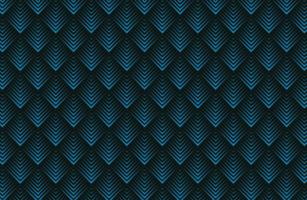 formes géométriques en couches avec motif à rayures vecteur