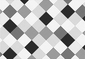 motif de demi-teintes carrées