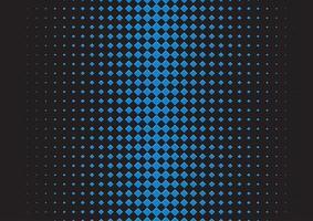 abstrait avec un design carré en demi-teinte vecteur