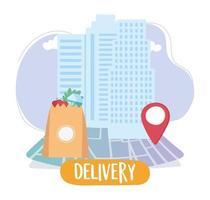 service de livraison d'épicerie