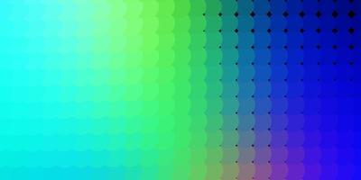 texture bleu clair et vert avec des cercles.