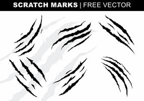 Scratch Marks vecteur libre