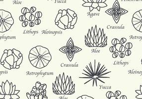 Motif botanique vecteur