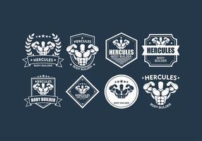 Hercules Fitness Logo Vector gratuit