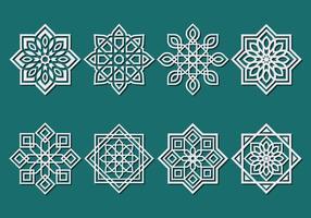 Ornement islamique Vecteur
