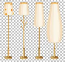ensemble de lampes