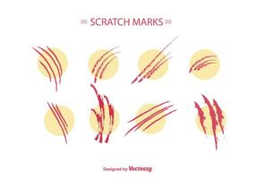 Scratch Marks Vector