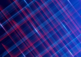 fond abstrait technologie futuriste rouge et bleu vecteur