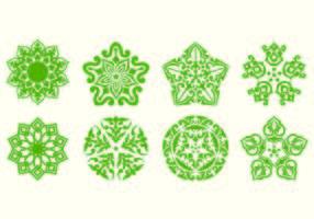 Ornement islamiques Vecteurs vecteur