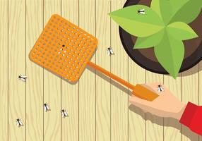 Fly Swatter Vector gratuit