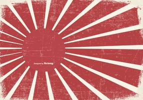 Grunge Kamikaze style Background vecteur