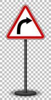 panneau de signalisation rouge