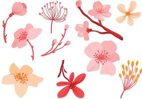 Fleurs roses gratuites vecteurs vecteur