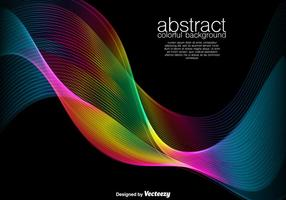 Abstract Background - Colorful Vector Spectrum
