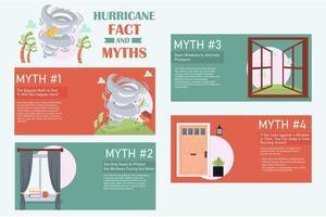 faits et mythes sur les ouragans infographiques