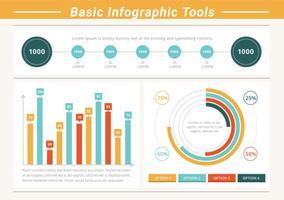 GratuitJe Infographic Elements Outils vectorielles vecteur