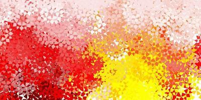 toile de fond colorée avec des triangles. vecteur