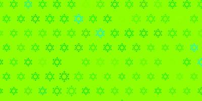 texture vert clair avec des symboles de la maladie.