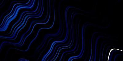 texture bleu foncé avec des courbes. vecteur