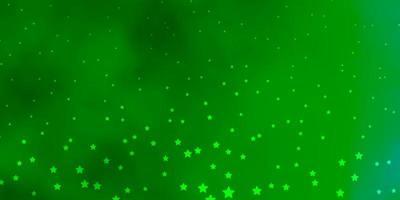texture verte avec de belles étoiles.