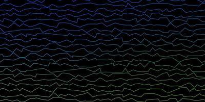 texture de lignes tordues bleues et vertes. vecteur
