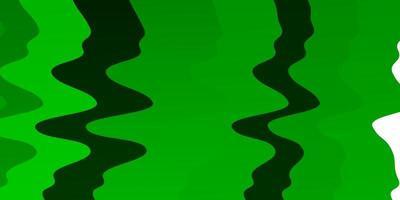 motif vert avec des lignes ironiques.