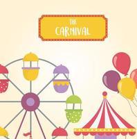 fête foraine, carnaval et composition de loisirs