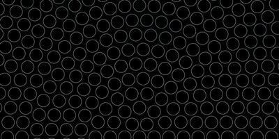 motif de cercles bleus.