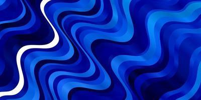 motif bleu avec des courbes. vecteur