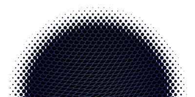 modèle de cercles bleu clair