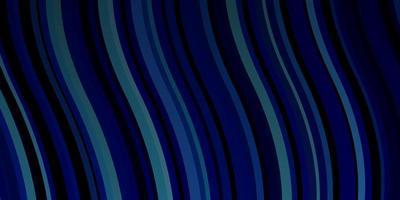 motif bleu foncé avec des lignes ironiques.