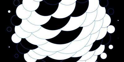 modèle avec des cercles soulignés de bleu clair. vecteur