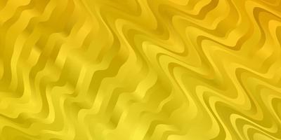 motif jaune clair avec des lignes ironiques.