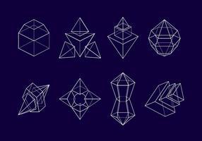 Cadre Prism vecteur libre