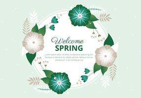 Spring Background Vector gratuit Saison