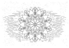 Illustration libre Mandala vecteur fleur