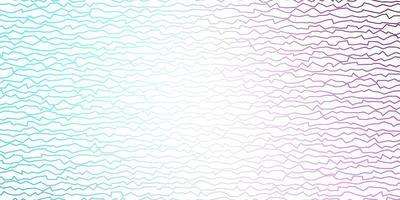 mise en page violet et bleu avec des lignes ironiques. vecteur