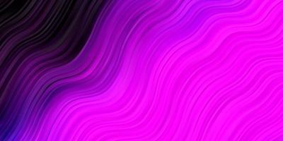 fond rose avec des lignes. vecteur