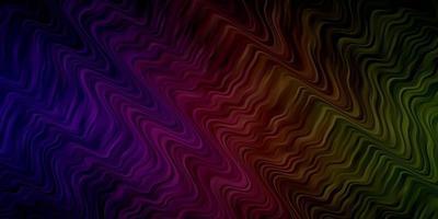 toile de fond multicolore avec des lignes pliées. vecteur