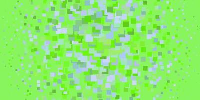 fond vert avec des carrés.