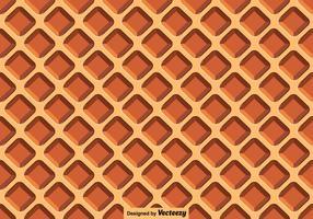 Waffle Vector Close Up Seamless