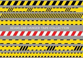 Danger Modèle de bande transparente vecteur