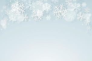 conception d'hiver de flocon de neige