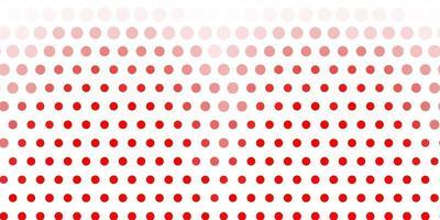 fond rouge clair avec des bulles.