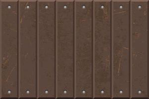 panneaux de texture de fer rouillé vecteur